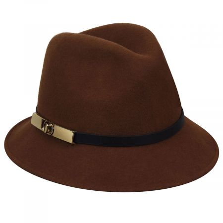 Darcy Wool Felt Fedora Hat alternate view 6
