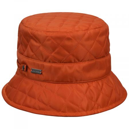 Quilted Nylon Rain Bucket Hat alternate view 3