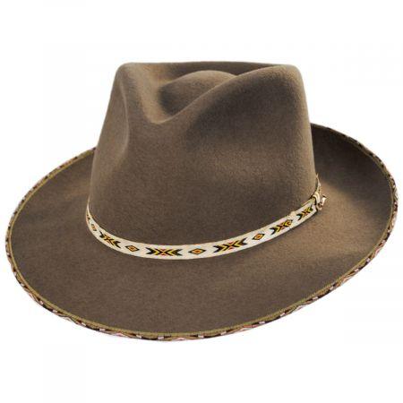 Vanguard Wool and Fur Blend Fedora Hat