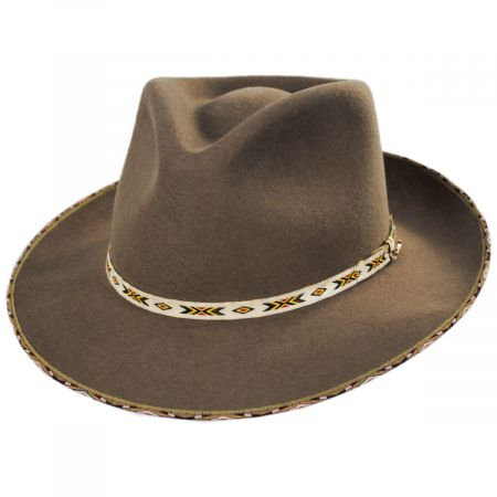 Stetson Vanguard Wool and Fur Blend Fedora Hat