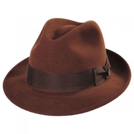 Stetson Rhineback Wool and Fur Blend Fedora Hat
