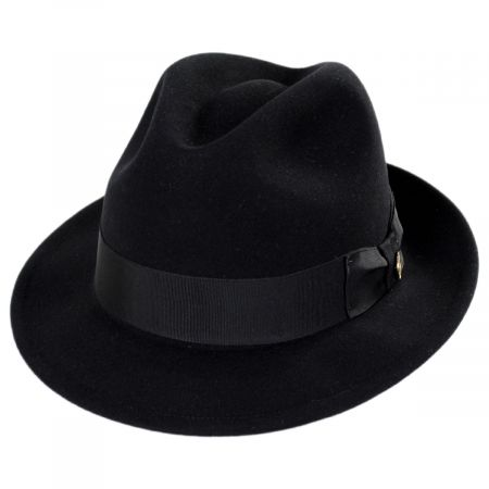 Rhineback Wool and Fur Blend Fedora Hat