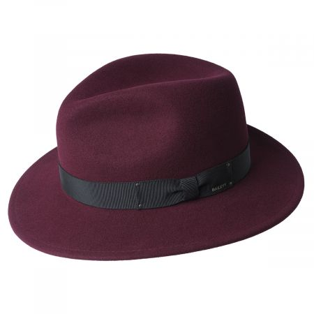 Curtis Wool Felt Safari Fedora Hat alternate view 11