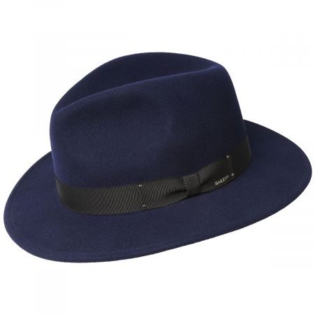 Curtis Wool Felt Safari Fedora Hat alternate view 17