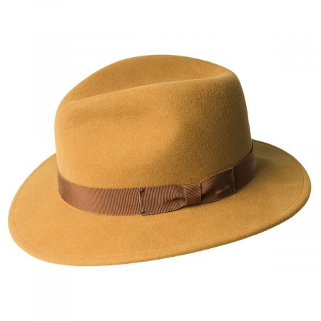 Curtis Wool Felt Safari Fedora Hat alternate view 5