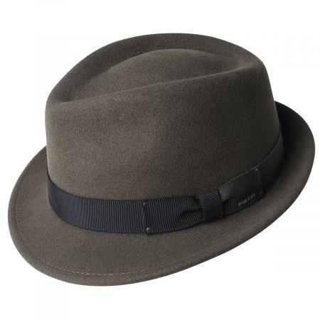 Wynn Wool Felt Fedora Hat alternate view 3