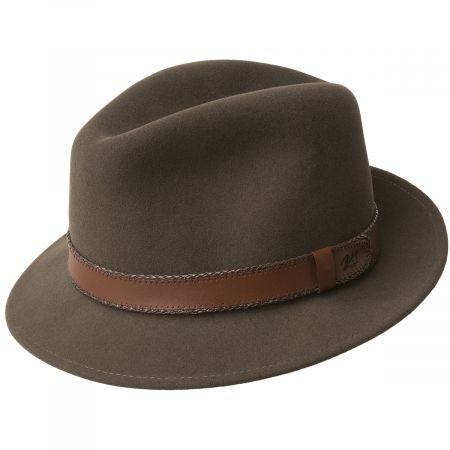 Perry Lanolux Wool Felt Fedora Hat alternate view 2