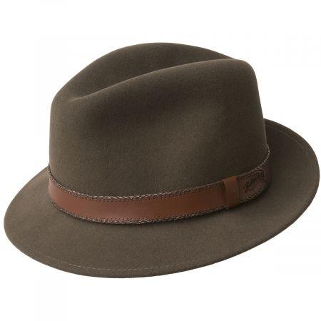 Perry Lanolux Wool Felt Fedora Hat alternate view 5