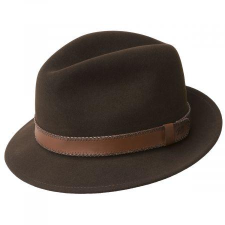 Perry Lanolux Wool Felt Fedora Hat alternate view 8