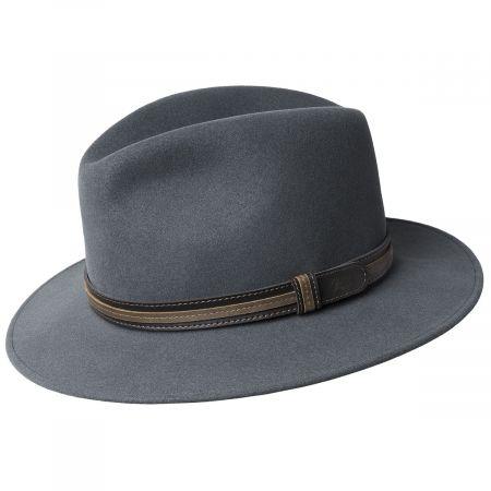 Brandt Lanolux Wool Felt Fedora Hat alternate view 3