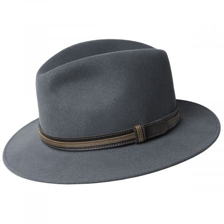 Brandt Lanolux Wool Felt Fedora Hat alternate view 16