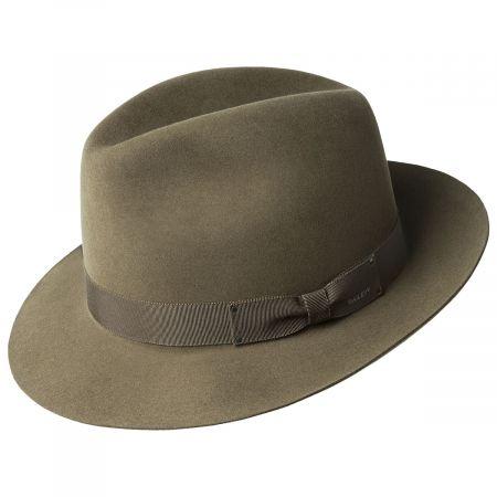 Draper III Fur Felt Fedora Hat alternate view 6