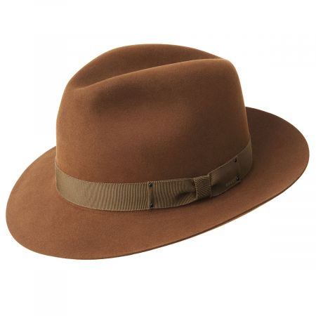 Draper III Fur Felt Fedora Hat alternate view 14
