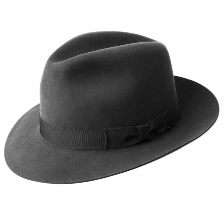 Draper III Fur Felt Fedora Hat alternate view 5