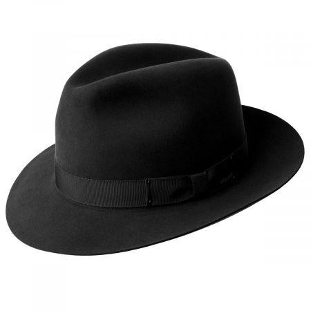 Draper III Fur Felt Fedora Hat alternate view 16