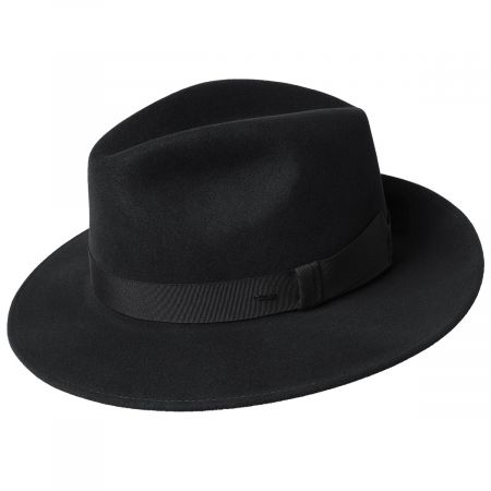 Hereford Elite Wool Felt Fedora Hat alternate view 1