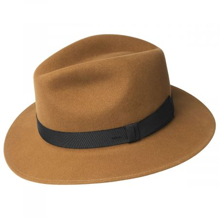 Hereford Elite Wool Felt Fedora Hat alternate view 2