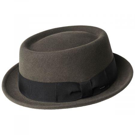 Bailey Darron Wool LiteFelt Pork Pie Hat