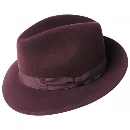 Winters Elite Wool Felt Fedora Hat alternate view 7