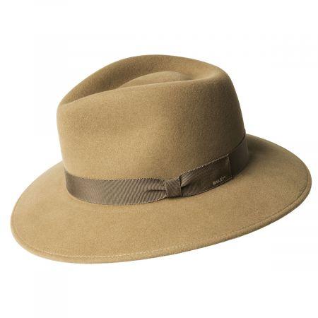 Ammon Wool Felt Teardrop Fedora Hat alternate view 3