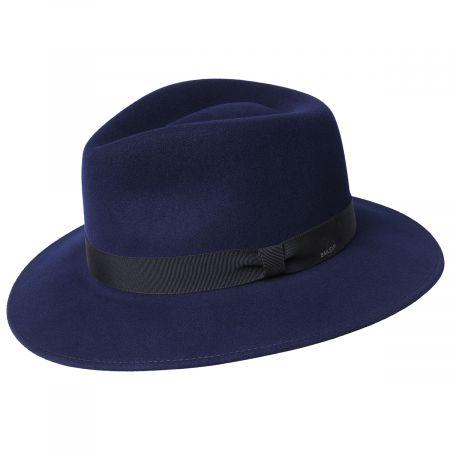 Ammon Wool Felt Teardrop Fedora Hat alternate view 4