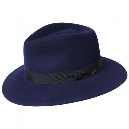 Ammon Wool Felt Teardrop Fedora Hat alternate view 28