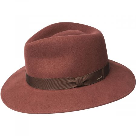 Ammon Wool Felt Teardrop Fedora Hat alternate view 20