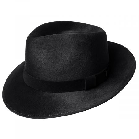 Lanth Polished Wool Felt Fedora Hat alternate view 15
