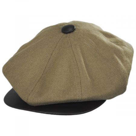 Dobbs Ledge Wool Newsboy Cap