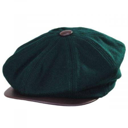 28c9bb0c Olive Green Newsboy Cap at Village Hat Shop