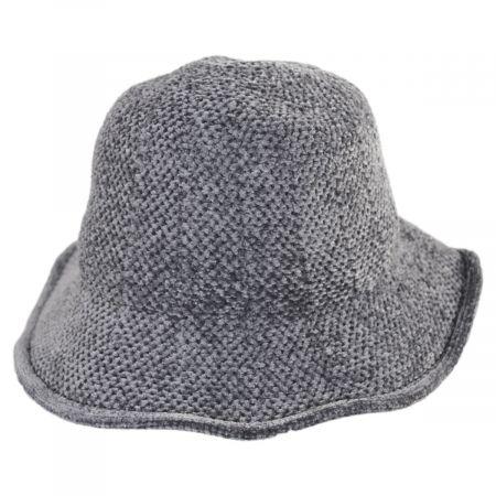 Twist Bow Chenille Cloche Hat alternate view 6