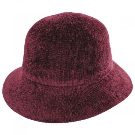 Large Brim Chenille Cloche Hat alternate view 5