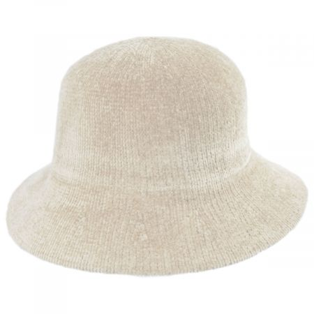 Large Brim Chenille Cloche Hat alternate view 9