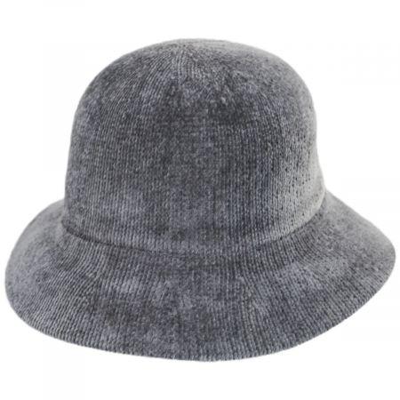 Large Brim Chenille Cloche Hat alternate view 10