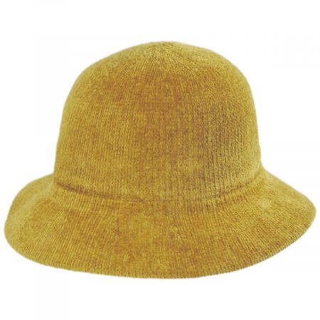 Large Brim Chenille Cloche Hat alternate view 14