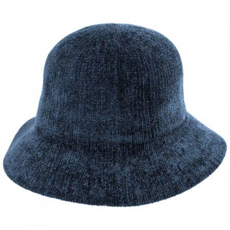 Large Brim Chenille Cloche Hat alternate view 15