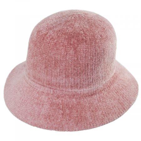 Large Brim Chenille Cloche Hat alternate view 19