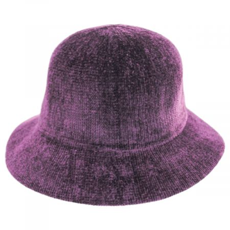 Large Brim Chenille Cloche Hat alternate view 20