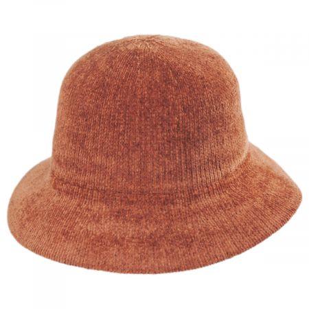 Large Brim Chenille Cloche Hat alternate view 21