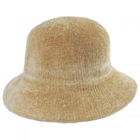 Large Brim Chenille Cloche Hat alternate view 22
