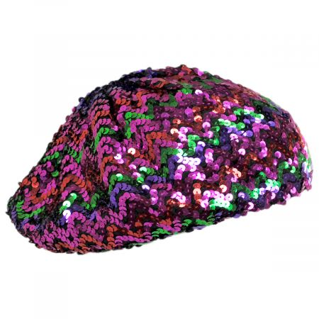 Jeanne Simmons Sequin Beret