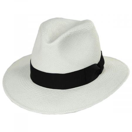 Joe Grade 8 Panama Straw Fedora Hat