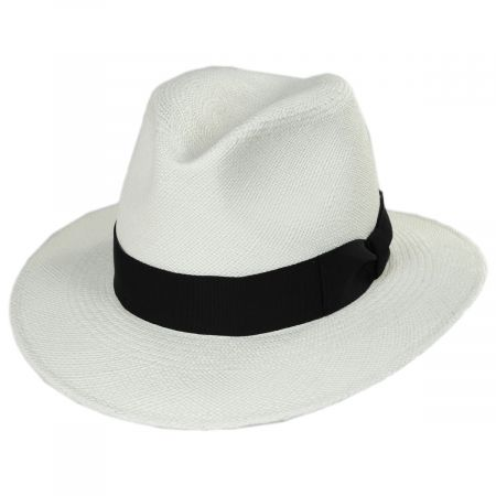 Joe Grade 8 Panama Straw Fedora Hat alternate view 5