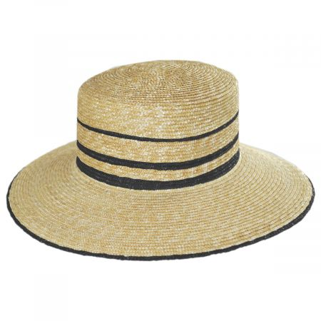 Nelina Straw Boater Hat alternate view 1