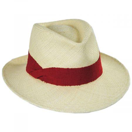 Mayser Hats Pia Grade 3 Panama Straw Fedora Hat