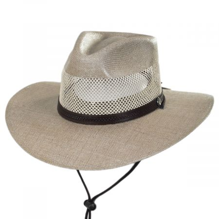 Head 'N Home Florence Laminated Toyo Western Hat