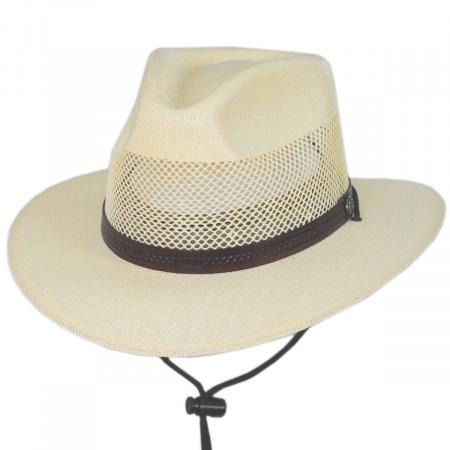 Milan Laminated Toyo Straw Safari Hat alternate view 1