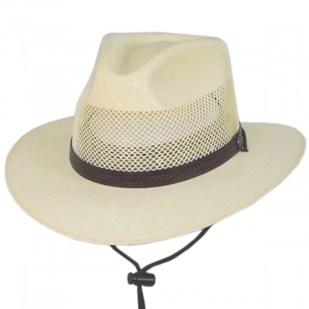 Milan Laminated Toyo Straw Safari Hat alternate view 9