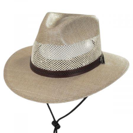 Milan Laminated Toyo Straw Safari Hat alternate view 5