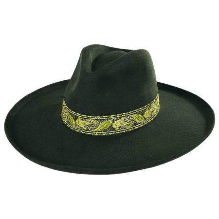 Melodic Wool Felt Fedora Hat